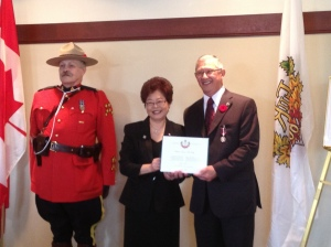 McNulty-Queens Diamond Jubilee medal